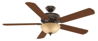 60 Quot Bronze Brown Ceiling Fan Ainsworth Gallery Bowl