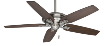 Motor Only Quot Brushed Nickel Chrome Ceiling Fan Brescia