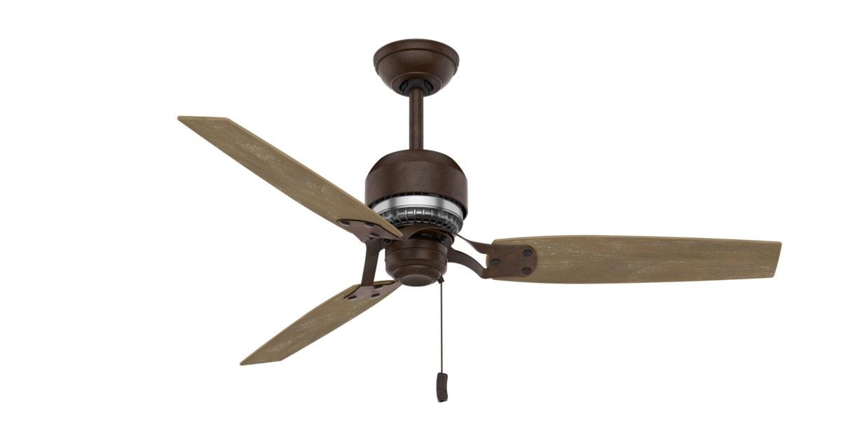 Aeronautical Ceiling Fan : Quot bronze brown ceiling fan tribeca casablanca