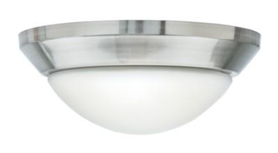 Brushed Nickel Globe Light Fixture